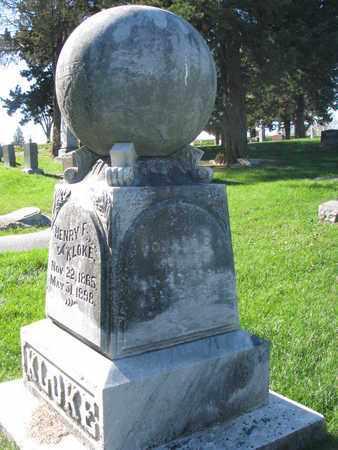 KLOKE, DONALD C. - Cuming County, Nebraska | DONALD C. KLOKE - Nebraska Gravestone Photos
