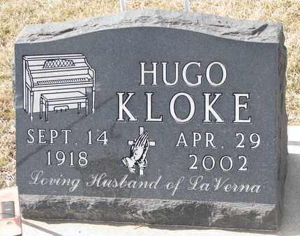 KLOKE, HUGO - Cuming County, Nebraska | HUGO KLOKE - Nebraska Gravestone Photos