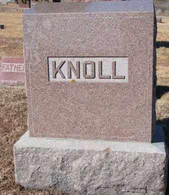 KNOLL, (FAMILY MONUMENT) - Cuming County, Nebraska   (FAMILY MONUMENT) KNOLL - Nebraska Gravestone Photos