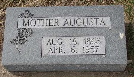 KRIEGER, AUGUSTA - Cuming County, Nebraska | AUGUSTA KRIEGER - Nebraska Gravestone Photos