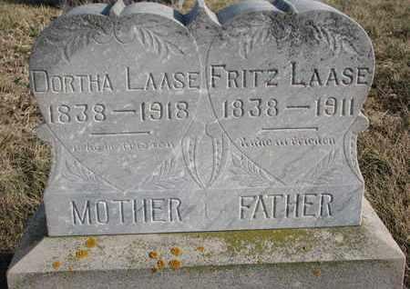 LAASE, DORTHA - Cuming County, Nebraska | DORTHA LAASE - Nebraska Gravestone Photos