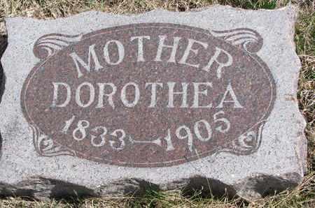 LAASE, DOROTHEA - Cuming County, Nebraska | DOROTHEA LAASE - Nebraska Gravestone Photos