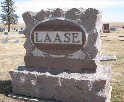 LAASE, (FAMILY MONUMENT) - Cuming County, Nebraska | (FAMILY MONUMENT) LAASE - Nebraska Gravestone Photos
