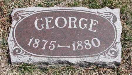 LAASE, GEORGE - Cuming County, Nebraska | GEORGE LAASE - Nebraska Gravestone Photos