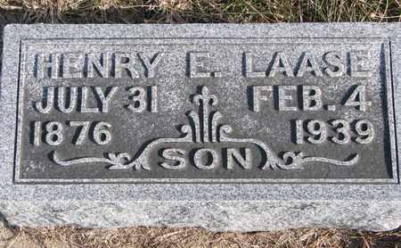 LAASE, HENRY E. - Cuming County, Nebraska | HENRY E. LAASE - Nebraska Gravestone Photos