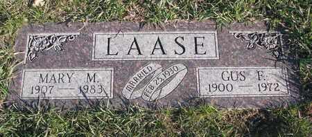 LAASE, MARY M. - Cuming County, Nebraska | MARY M. LAASE - Nebraska Gravestone Photos