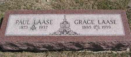 LAASE, GRACE - Cuming County, Nebraska | GRACE LAASE - Nebraska Gravestone Photos