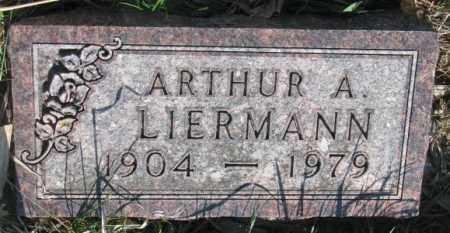 LIERMANN, ARTHUR A. - Cuming County, Nebraska | ARTHUR A. LIERMANN - Nebraska Gravestone Photos