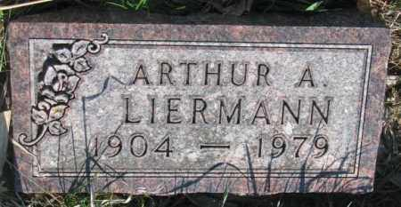 LIERMANN, ARTHUR A. - Cuming County, Nebraska   ARTHUR A. LIERMANN - Nebraska Gravestone Photos