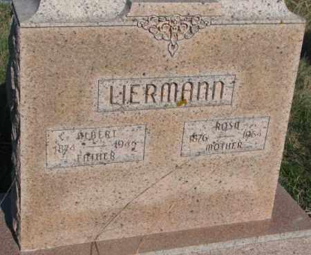 LIERMANN, ALBERT - Cuming County, Nebraska | ALBERT LIERMANN - Nebraska Gravestone Photos