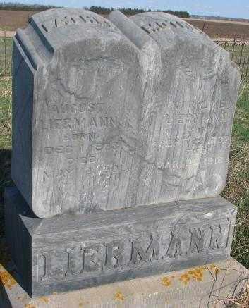 LIERMANN, AUGUST - Cuming County, Nebraska | AUGUST LIERMANN - Nebraska Gravestone Photos
