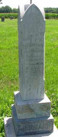 LIERMANN, CHARLOTTE F.W. - Cuming County, Nebraska | CHARLOTTE F.W. LIERMANN - Nebraska Gravestone Photos