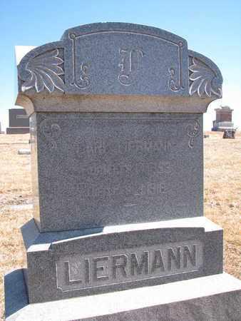 LIERMANN, CARL - Cuming County, Nebraska | CARL LIERMANN - Nebraska Gravestone Photos