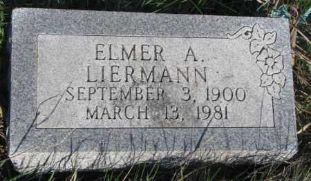 LIERMANN, ELMER A. - Cuming County, Nebraska | ELMER A. LIERMANN - Nebraska Gravestone Photos