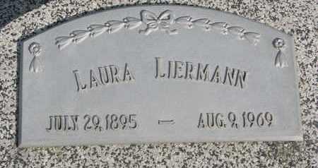 LIERMANN, LAURA - Cuming County, Nebraska | LAURA LIERMANN - Nebraska Gravestone Photos