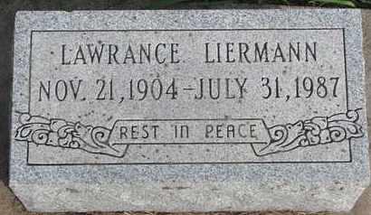 LIERMANN, LAWRANCE - Cuming County, Nebraska   LAWRANCE LIERMANN - Nebraska Gravestone Photos