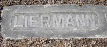 LIERMANN, PLOT BORDER - Cuming County, Nebraska   PLOT BORDER LIERMANN - Nebraska Gravestone Photos