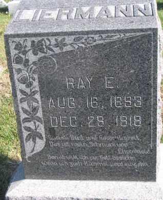 LIERMANN, RAY E. - Cuming County, Nebraska   RAY E. LIERMANN - Nebraska Gravestone Photos