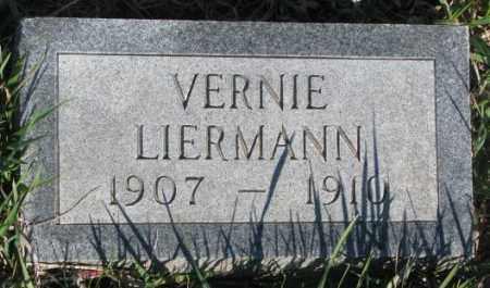 LIERMANN, VERNIE - Cuming County, Nebraska | VERNIE LIERMANN - Nebraska Gravestone Photos