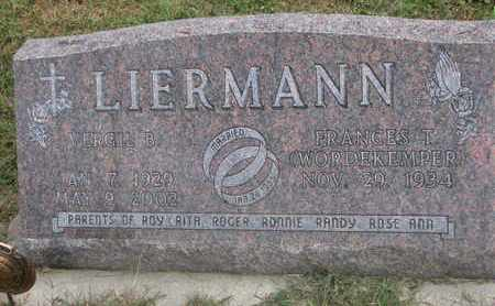 LIERMANN, FRANCES T. - Cuming County, Nebraska | FRANCES T. LIERMANN - Nebraska Gravestone Photos