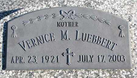 LUEBBERT, VERNICE M. - Cuming County, Nebraska | VERNICE M. LUEBBERT - Nebraska Gravestone Photos