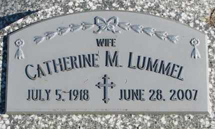 LUMMEL, CATHERINE M. - Cuming County, Nebraska | CATHERINE M. LUMMEL - Nebraska Gravestone Photos