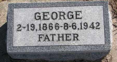 LUTHER, GEORGE - Cuming County, Nebraska | GEORGE LUTHER - Nebraska Gravestone Photos