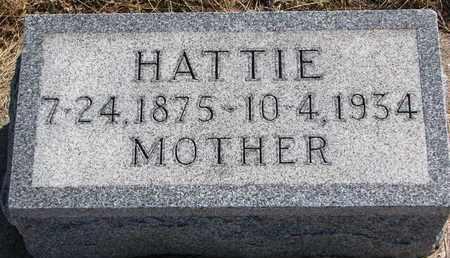 LUTHER, HATTIE - Cuming County, Nebraska   HATTIE LUTHER - Nebraska Gravestone Photos