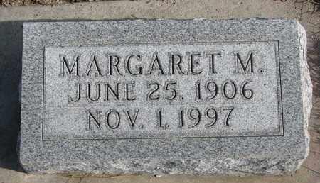 LUTHER, MARGARET M. - Cuming County, Nebraska | MARGARET M. LUTHER - Nebraska Gravestone Photos