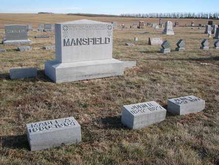MANSFIELD, FAMILY PLOT - Cuming County, Nebraska | FAMILY PLOT MANSFIELD - Nebraska Gravestone Photos