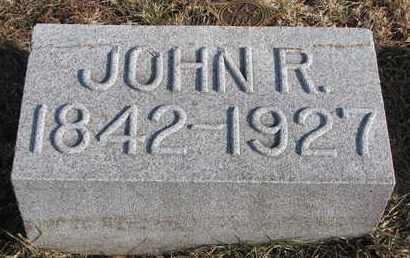 MANSFIELD, JOHN R. - Cuming County, Nebraska | JOHN R. MANSFIELD - Nebraska Gravestone Photos