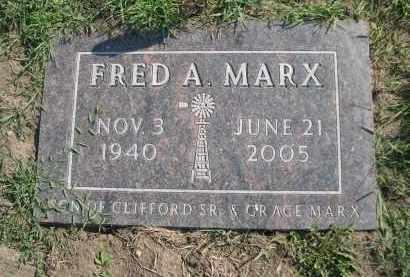 MARX, FRED A. - Cuming County, Nebraska   FRED A. MARX - Nebraska Gravestone Photos