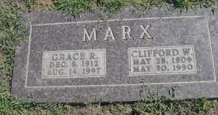 MARX, GRACE R. - Cuming County, Nebraska   GRACE R. MARX - Nebraska Gravestone Photos