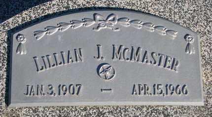 MCMASTER, LILLIAN J. - Cuming County, Nebraska | LILLIAN J. MCMASTER - Nebraska Gravestone Photos