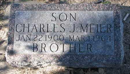 MEIER, CHARLES J. - Cuming County, Nebraska | CHARLES J. MEIER - Nebraska Gravestone Photos