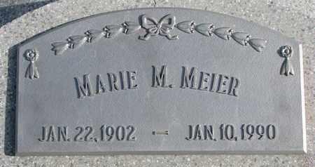 MEIER, MARIE M. - Cuming County, Nebraska | MARIE M. MEIER - Nebraska Gravestone Photos