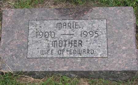 MEIER, MARIE - Cuming County, Nebraska | MARIE MEIER - Nebraska Gravestone Photos