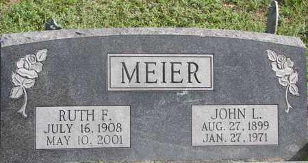 MEIER, RUTH F. - Cuming County, Nebraska | RUTH F. MEIER - Nebraska Gravestone Photos