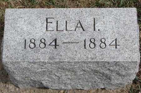 MEWIS, ELLA I. - Cuming County, Nebraska | ELLA I. MEWIS - Nebraska Gravestone Photos