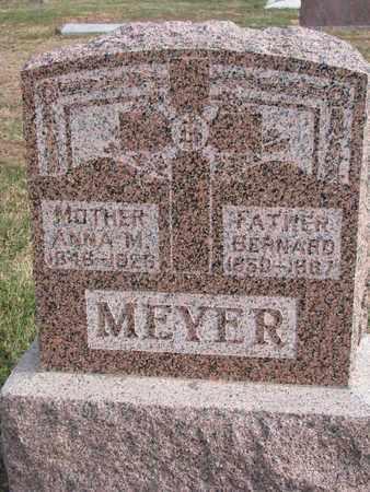 MEYER, BERNARD - Cuming County, Nebraska | BERNARD MEYER - Nebraska Gravestone Photos