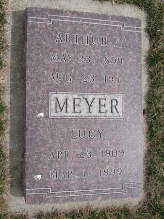 MEYER, ARTHUR F. - Cuming County, Nebraska   ARTHUR F. MEYER - Nebraska Gravestone Photos