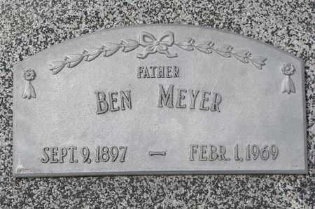 MEYER, BEN - Cuming County, Nebraska | BEN MEYER - Nebraska Gravestone Photos