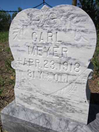 MEYER, CARL - Cuming County, Nebraska   CARL MEYER - Nebraska Gravestone Photos