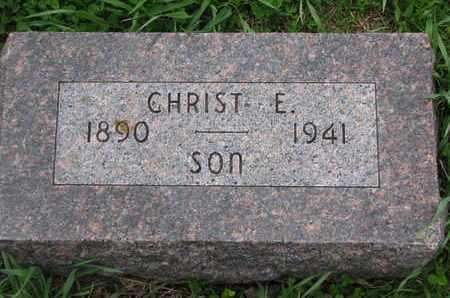 MEYER, CHRIST E. - Cuming County, Nebraska   CHRIST E. MEYER - Nebraska Gravestone Photos