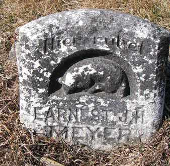 MEYER, EARNEST J.H. - Cuming County, Nebraska | EARNEST J.H. MEYER - Nebraska Gravestone Photos