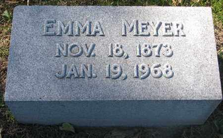 MEYER, EMMA - Cuming County, Nebraska | EMMA MEYER - Nebraska Gravestone Photos