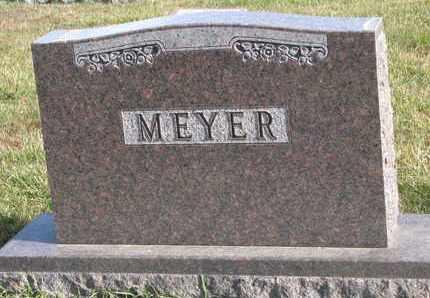 MEYER, (FAMILY STONE) - Cuming County, Nebraska | (FAMILY STONE) MEYER - Nebraska Gravestone Photos