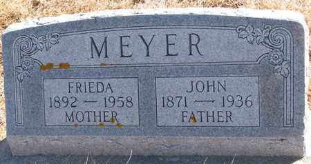 MEYER, JOHN - Cuming County, Nebraska | JOHN MEYER - Nebraska Gravestone Photos