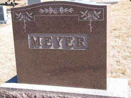 MEYER, (FAMILY MONUMENT) - Cuming County, Nebraska   (FAMILY MONUMENT) MEYER - Nebraska Gravestone Photos