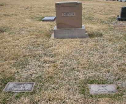 MEYER, (FAMILY PLOT) - Cuming County, Nebraska | (FAMILY PLOT) MEYER - Nebraska Gravestone Photos